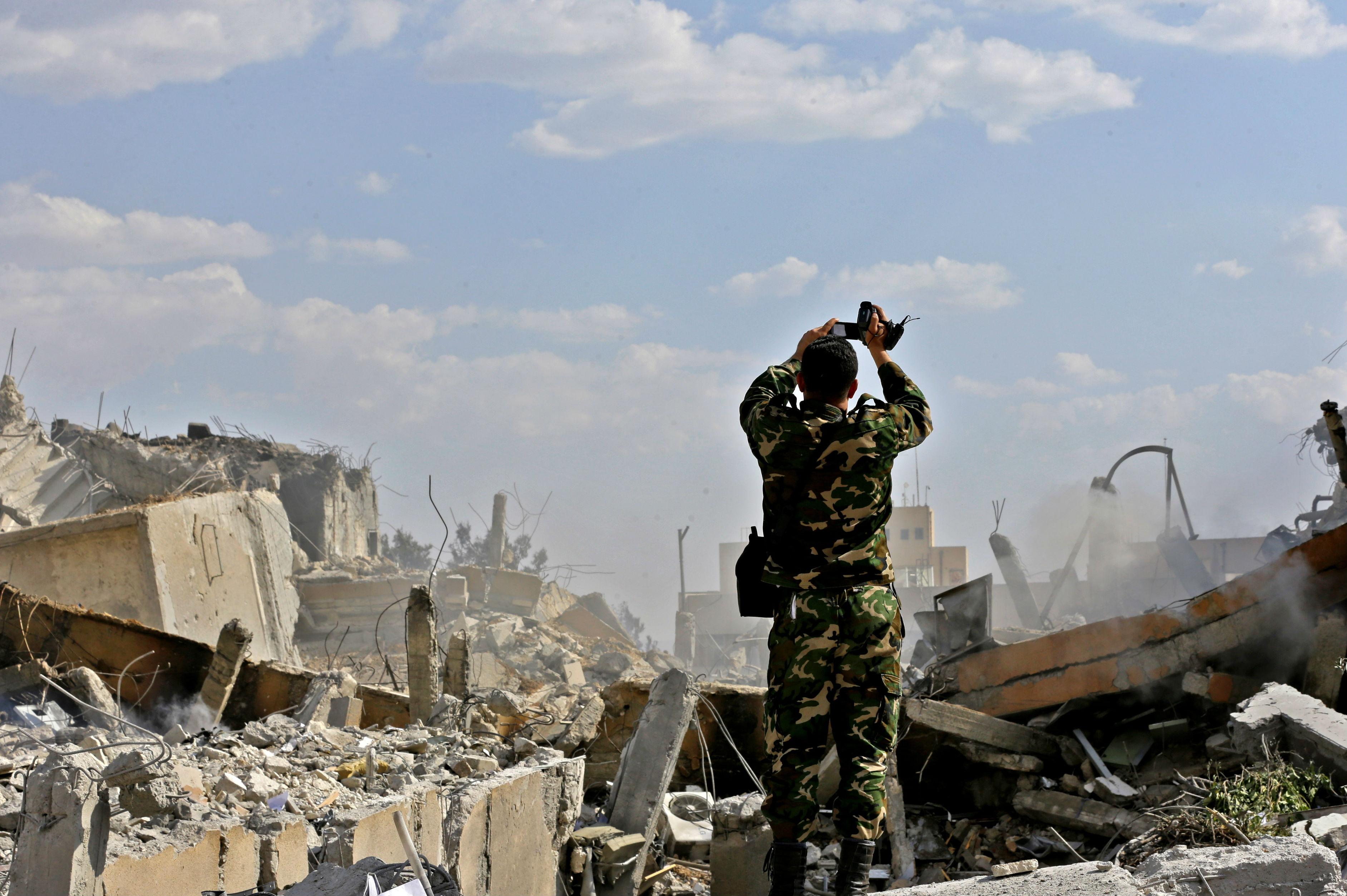 Siria en ruinas